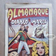 Tebeos: ALMANAQUE DE EL DIABLO DE LOS MARES 1948 - REEDICIÓN. Lote 235783500