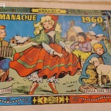 Tebeos: TBO COMIC GRACIELA ALMANAQUE 1960. Lote 236237285