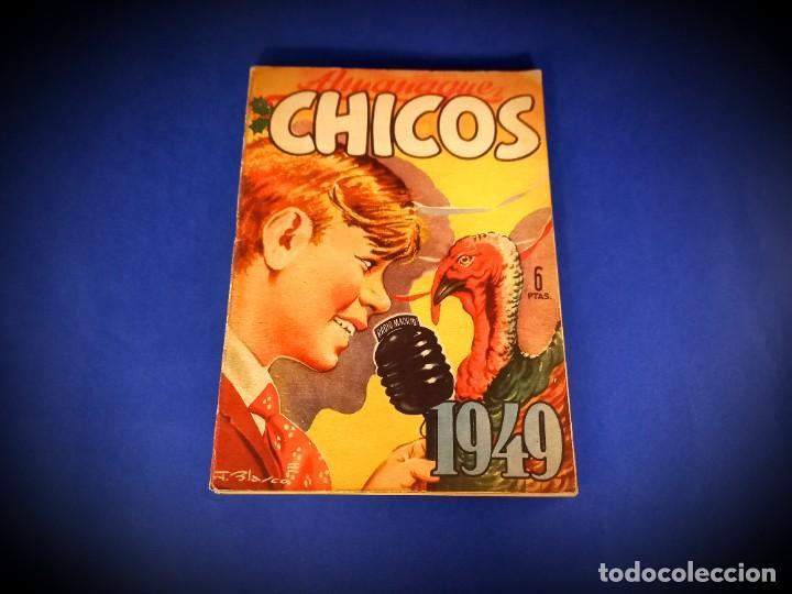CHICOS ALMANAQUE PARA 1949 EDITA CONSUELO GIL (Tebeos y Comics - Tebeos Almanaques)