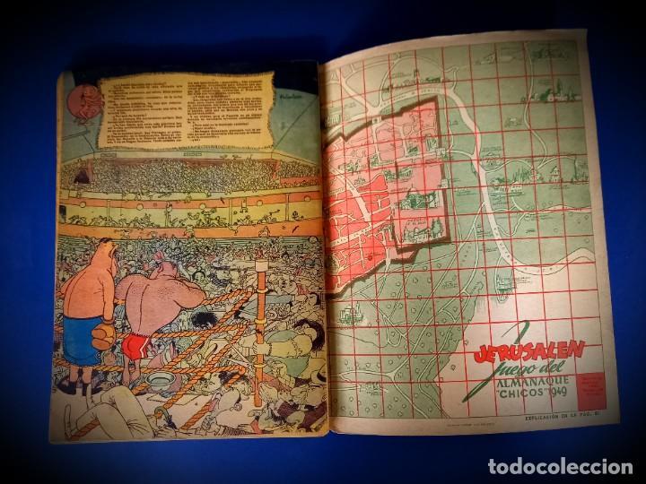 Tebeos: CHICOS ALMANAQUE PARA 1949 EDITA CONSUELO GIL - Foto 4 - 236397290