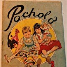 Tebeos: POCHOLO ALMANAQUE 1952 ORIGINAL, EDITORIAL VIVES. Lote 236855470