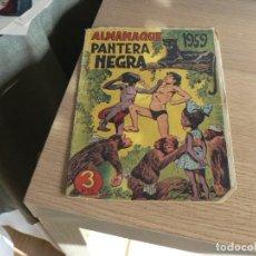 Tebeos: ALMANAQUE DE PANTERA NEGRA 1959. Lote 236903170