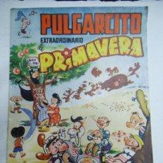 BDs: PULGARCITO - EXTRAORDINARIO DE PRIMAVERA - BRUGUERA - 2,50 PESETAS (EXTRAORDINARIA CONSERVACION). Lote 240472045