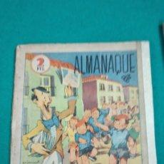 Tebeos: ALMANAQUE 1941 FLECHAS Y PELAYOS.. Lote 241667475