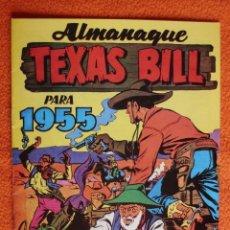 Tebeos: ALMANAQUE TEXAS BILL PARA 1955. Lote 244972815
