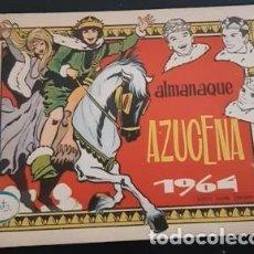 Livros de Banda Desenhada: ALMANAQUE AZUCENA DE 1964, IL. DE ROSA GALCERAN CON MARISOL EN TÓMBOLA EN CONTRAPORTADA. Lote 245202080