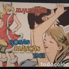 Livros de Banda Desenhada: ALMANAQUE ROSAS BLANCAS DE 1962, IL. DE MARÍA. PASCUAL,. Lote 245202780