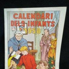 Tebeos: CALENDARIO DELS INFANTS N°7, 1958, HISPANO AMERICANA. Lote 245577755