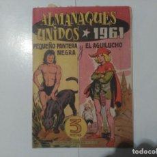 Tebeos: ALMANAQUES UNIDOS 1961. Lote 245589790