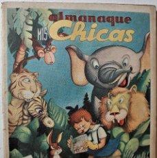 Tebeos: MIS CHICAS, ALMANAQUE 1947, EDITORIAL CONSUELO GIL, ORIGINAL ÉPOCA. Lote 245610280
