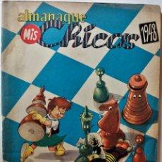 Tebeos: MIS CHICAS, ALMANAQUE 1948, EDITORIAL CONSUELO GIL, ORIGINAL ÉPOCA. Lote 245610625