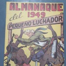 Tebeos: ALMANAQUE DEL PEQUEÑO LUCHADOR 1949. Lote 249033810