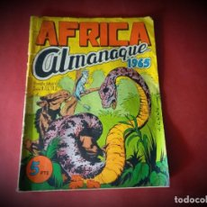 Tebeos: AFRICA. ALMANAQUE 1965 (MAGA). ORIGINAL. Lote 251026635