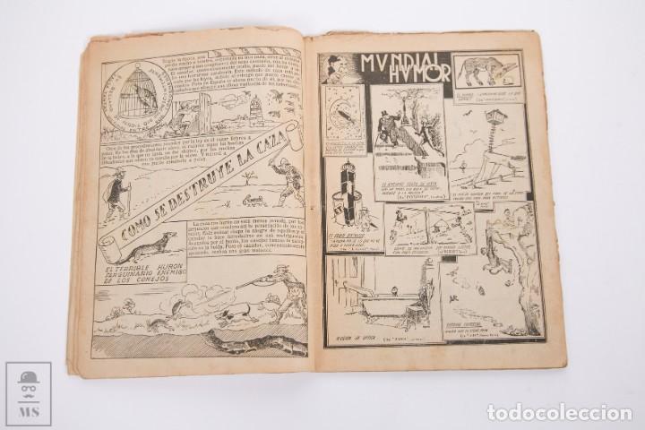 Tebeos: Conjunto de 4 TBO Almanaque - Años 1934, 1935, 1936 y 1937 - Portada Opisso - Foto 3 - 251159265