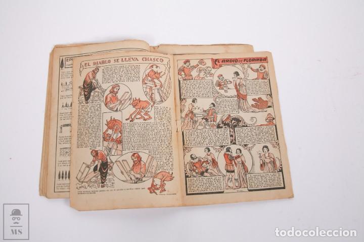 Tebeos: Conjunto de 4 TBO Almanaque - Años 1934, 1935, 1936 y 1937 - Portada Opisso - Foto 4 - 251159265