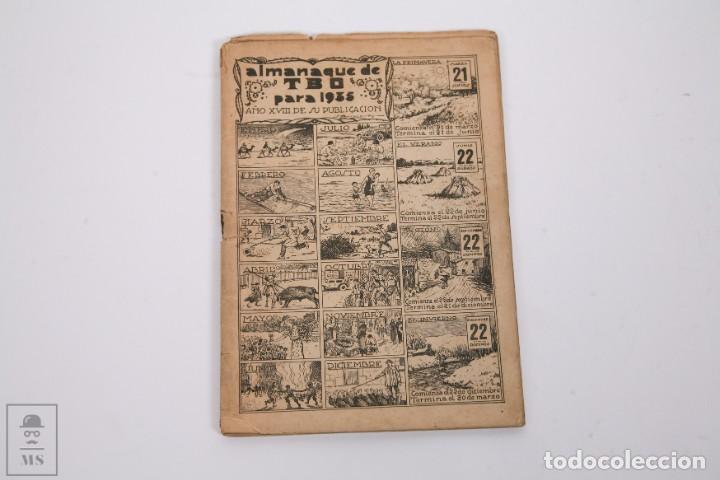 Tebeos: Conjunto de 4 TBO Almanaque - Años 1934, 1935, 1936 y 1937 - Portada Opisso - Foto 5 - 251159265