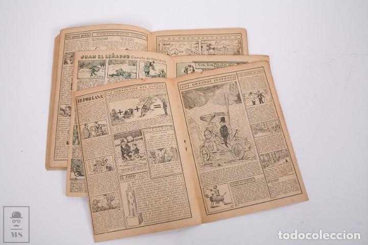 Tebeos: Conjunto de 4 TBO Almanaque - Años 1934, 1935, 1936 y 1937 - Portada Opisso - Foto 7 - 251159265