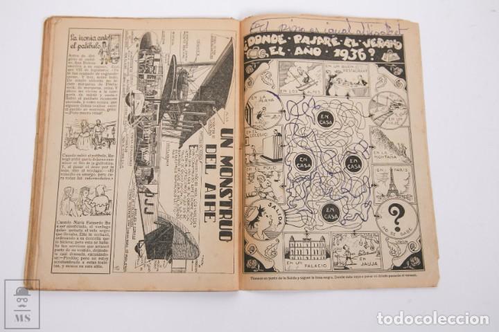 Tebeos: Conjunto de 4 TBO Almanaque - Años 1934, 1935, 1936 y 1937 - Portada Opisso - Foto 11 - 251159265