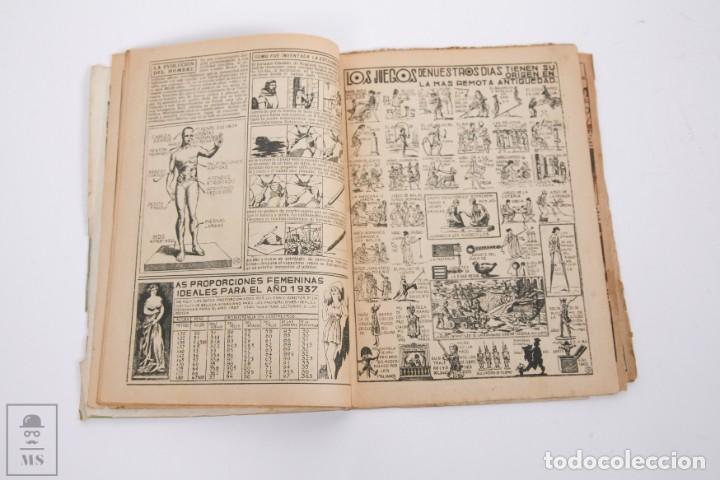 Tebeos: Conjunto de 4 TBO Almanaque - Años 1934, 1935, 1936 y 1937 - Portada Opisso - Foto 16 - 251159265