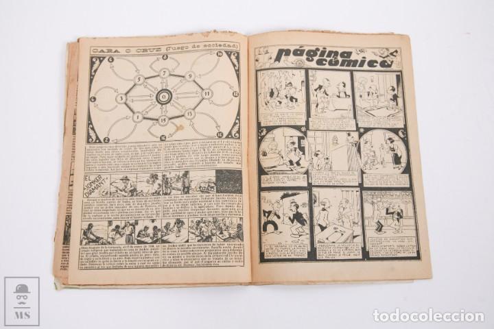 Tebeos: Conjunto de 4 TBO Almanaque - Años 1934, 1935, 1936 y 1937 - Portada Opisso - Foto 17 - 251159265