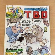 Tebeos: TBO Nº 23 - ALMANAQUE AÑO 1990 - COMPLETO CON BELÉN DE CARTÓN RECORTABLE DE OBSEQUIO. Lote 252067820