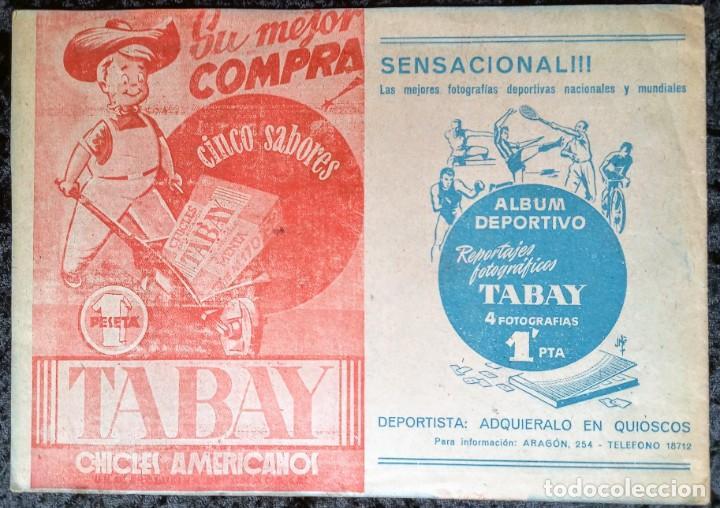 Tebeos: BARSA BARSA BARSA - HISTORIA DEL BARCELONA EN LA LIGA - MUNTAÑOLA - MUY RARO - 1948 - TABAY - Foto 6 - 252257790
