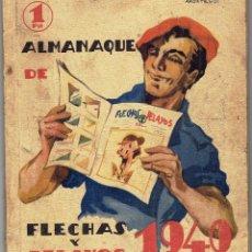 Tebeos: ALMANAQUE DE FLECHAS Y PELAYOS 1940. Lote 254468380