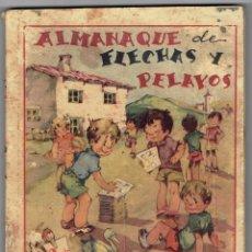 Tebeos: ALMANAQUE DE FLECHAS Y PELAYOS 1942. Lote 254468490