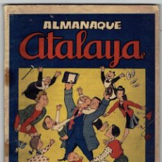 Tebeos: ATALAYA - ALMANAQUE 1946. Lote 254586795