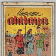 Tebeos: ATALAYA - ALMANAQUE 1947. Lote 254588670