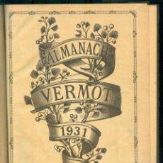 Tebeos: NUMULITE L0132 ALMANACH VERMOT 1931 ALMANAQUE FRANCÉS. Lote 254599120