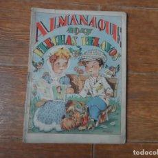 Tebeos: ALMANAQUE DE FLECHAS Y PELAYOS 1947 ORIGINAL. Lote 255375465