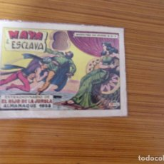 Tebeos: EL HIJO DE LA JUNGLA ALMANAQUE PARA 1958 EDITA VALENCIANA. Lote 255486685