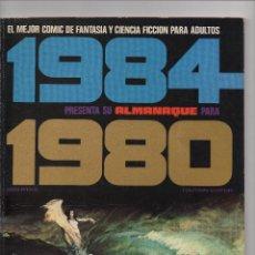 Tebeos: 1984 ALMANAQUE PARA 1.980 REVISTA DE TOUTAIN EDITOR. Lote 257479610