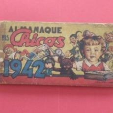 Tebeos: MIS CHICAS - ALMANAQUE 1942 - C.GIL. Lote 260570940