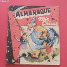 Tebeos: MIS CHICAS - ALMANAQUE 1943 - C.GIL. Lote 260571960