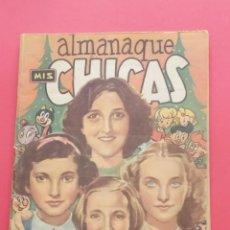 Tebeos: MIS CHICAS - ALMANAQUE 1950 - C.GIL. Lote 260575560