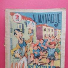 Tebeos: FLECHAS Y PELAYOS - ALMANAQUE 1941. Lote 260758565