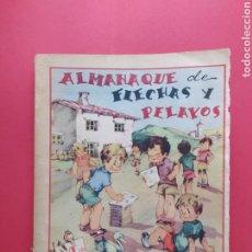 Tebeos: FLECHAS Y PELAYOS - ALMANAQUE 1942. Lote 260758795