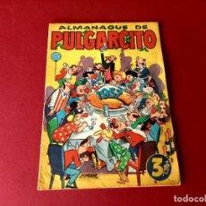 Tebeos: ALMANAQUE PULGARCITO 1957 BRUGUERA. Lote 261698915