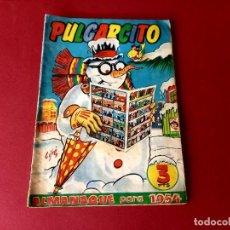 Tebeos: ALMANAQUE PULGARCITO 1954 BRUGUERA. Lote 261699155