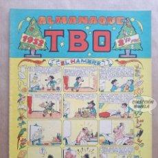 Tebeos: ALMANAQUE TBO 1952 - ORIGINAL. Lote 262263005