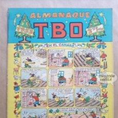 Tebeos: ALMANAQUE TBO 1953 - ORIGINAL. Lote 262264340