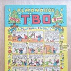 Tebeos: ALMANAQUE TBO 1955 - ORIGINAL. Lote 262265135