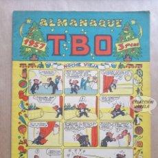 Tebeos: ALMANAQUE TBO 1957 - ORIGINAL. Lote 262266220