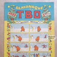 Tebeos: ALMANAQUE TBO 1958 - ORIGINAL. Lote 262271215