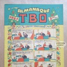 Tebeos: ALMANAQUE TBO 1961 - ORIGINAL. Lote 262273095