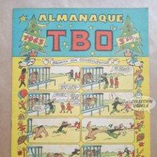 Tebeos: ALMANAQUE TBO 1963 - ORIGINAL. Lote 262274635
