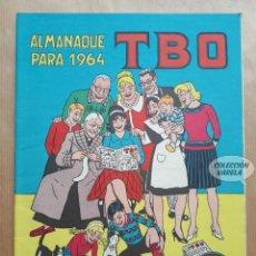 Tebeos: ALMANAQUE TBO 1964 - ORIGINAL. Lote 262275115