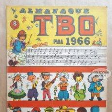Tebeos: ALMANAQUE TBO 1966 - ORIGINAL. Lote 262276335
